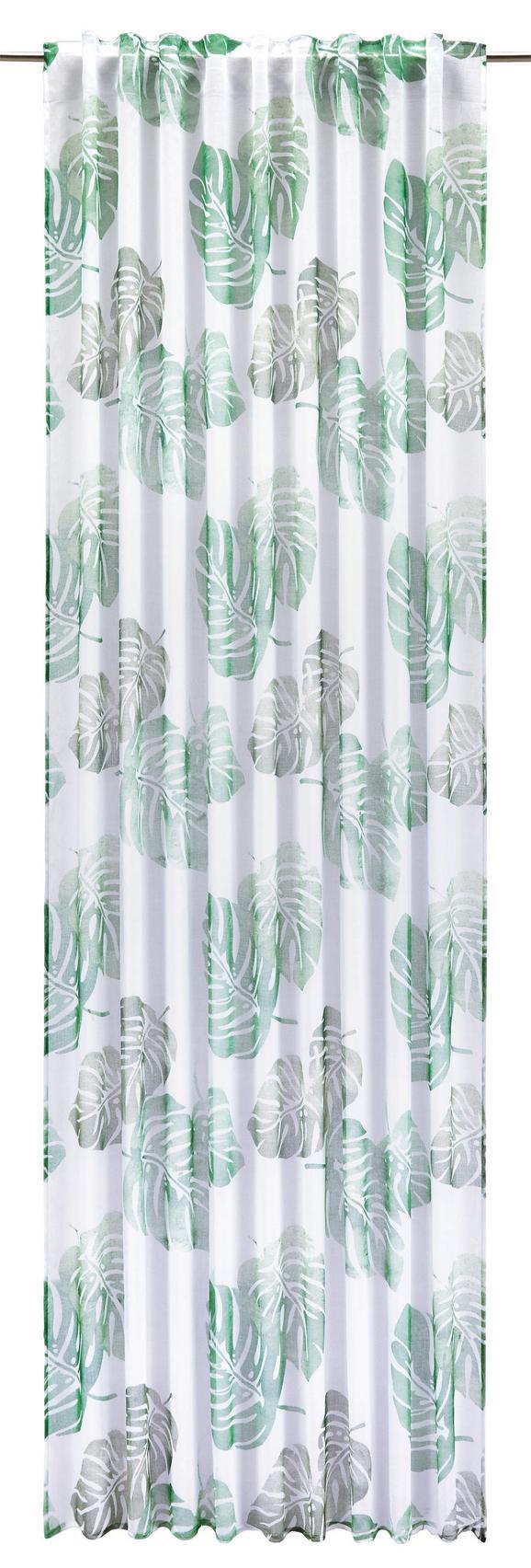 Končana Zavesa Tropical - zelena, Moderno, tekstil (140/245cm) - Mömax modern living