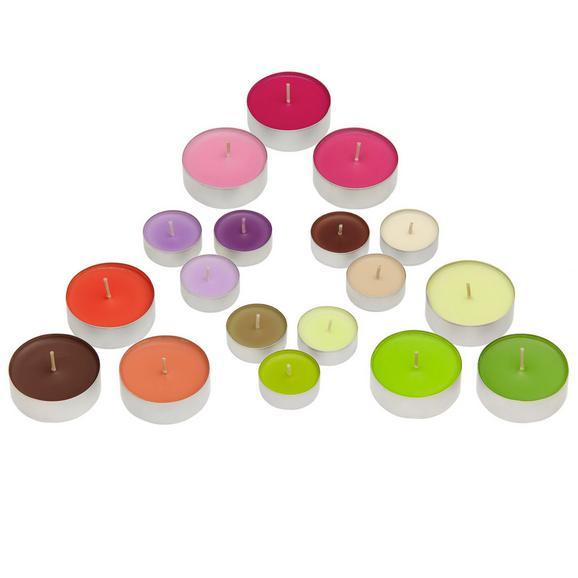 Teamécses Fragranced - alu színű/barna, fém (3,9/1,55cm) - MÖMAX modern living