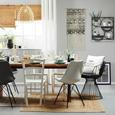 Asztali Futó Steffi Neu - Natúr, Textil (45/150cm) - Mömax modern living
