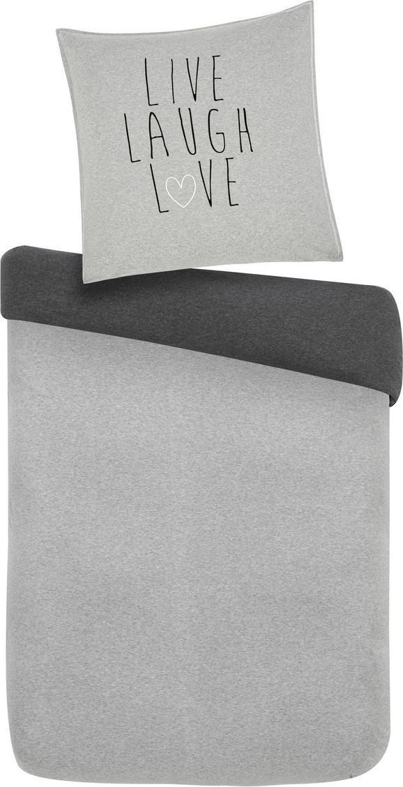Bettwäsche Wende ca. 135x200cm - Grau, MODERN, Textil (135/200cm) - Mömax modern living
