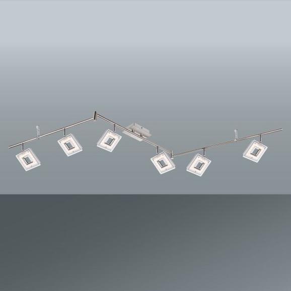Strahler Kerstin, max. 4,2 Watt - KONVENTIONELL, Kunststoff/Metall (170/22cm) - Mömax modern living