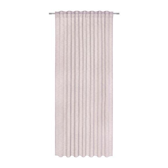 Perdea Prefabricată Sigrid - roz, Romantik / Landhaus, textil (140/245cm) - Premium Living