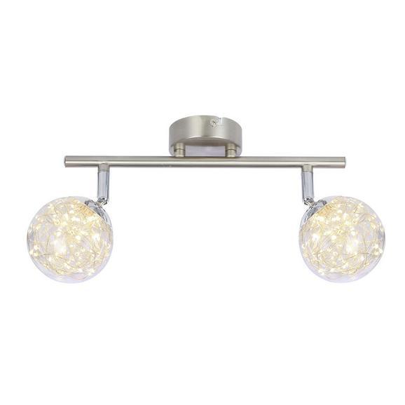 LED-Strahler 56804-2 max. 7 Watt - Klar, MODERN, Glas/Metall (30/10/19,5cm)