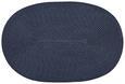 Tischset Billy Blau Rund/oval - Blau, Textil - Mömax modern living
