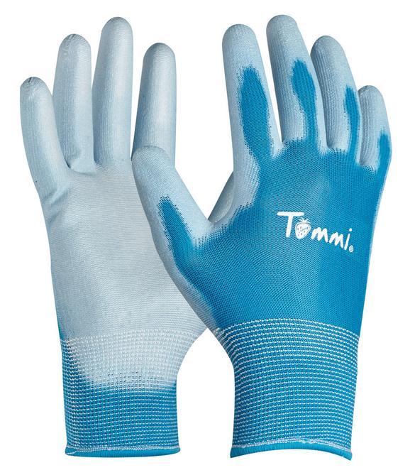 Gartenhandschuhe Tommi Blau - Blau, Textil