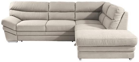 Sedežna Garnitura Victory - krom/peščena, Konvencionalno, kovina/tekstil (264/217cm) - Premium Living