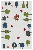Gyerekszőnyeg Rudi - Fehér, Textil (80/120cm) - Mömax modern living
