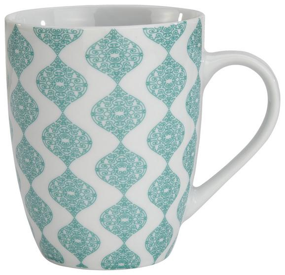 Kaffeebecher Anaan aus Porzellan Ø ca. 8,5cm - Blau, MODERN, Keramik (8,5/10,3cm) - Mömax modern living