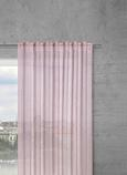 Končana Zavesa Sigrid - roza, Romantika, tekstil (140/245cm) - Premium Living