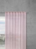Končana Zavesa Sigrid -top- - roza, Romantika, tekstil (140/245cm) - Premium Living