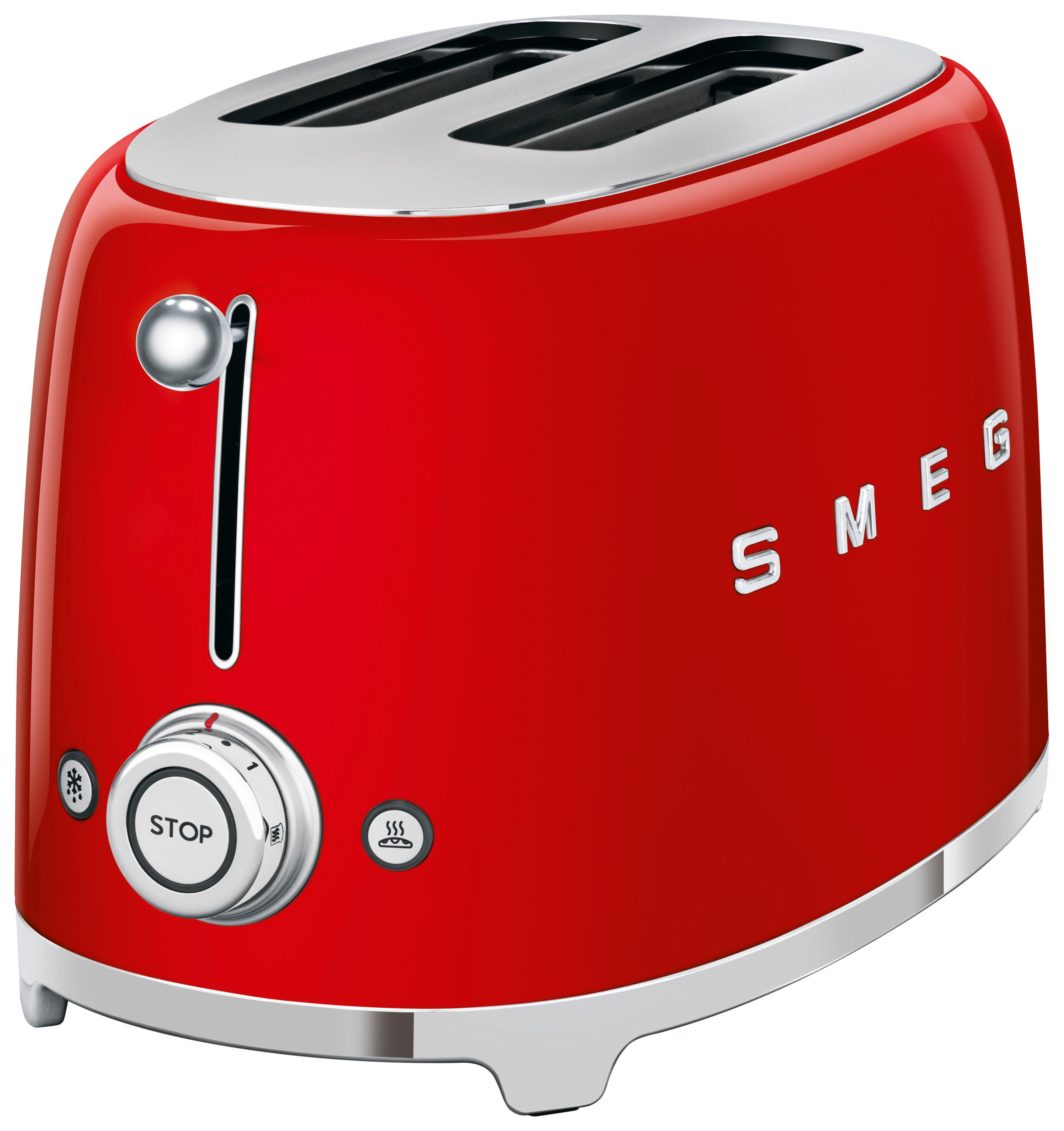 Toaster SMEG TSF01RDEU Rot   Küche und Esszimmer > Küchengeräte > Toaster   SMEG