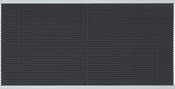 Plissee Free, ca. 90x210cm - Anthrazit, Textil (90/210cm) - MÖMAX modern living