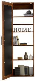 Wandspiegel Naturfarben - Naturfarben, LIFESTYLE, Glas/Holz (50/160/19cm) - Premium Living