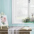 Perdea Din Franjuri Promotion -Based- - albastru/mov, Konventionell, textil (90/200cm) - Modern Living