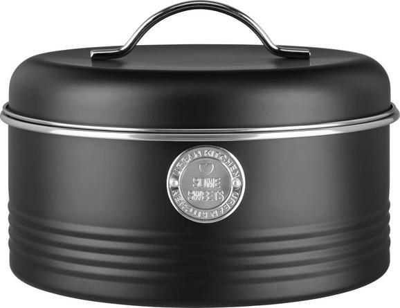 Posoda Za Shranjevanje Urban - črna/srebrna, Moderno, kovina (22,5/16cm) - MÖMAX modern living