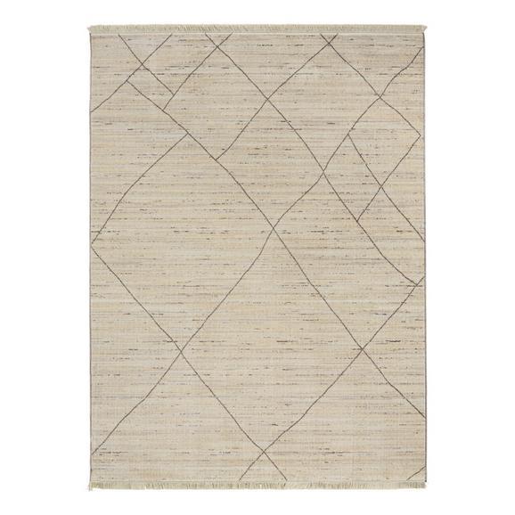 Szőnyeg Prestige - Krém/Szürke, Textil (120/160cm) - Mömax modern living