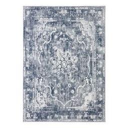 Tuftteppich Samira Blau/Grau 160x230cm - Grau, Textil (160/230cm) - Mömax modern living