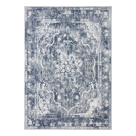 Tuftteppich Samira Grau/Blau 120x170cm - Grau, Textil (120/170cm) - Mömax modern living