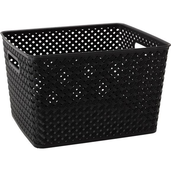 korb mona in grau schwarz wei online kaufen m max. Black Bedroom Furniture Sets. Home Design Ideas