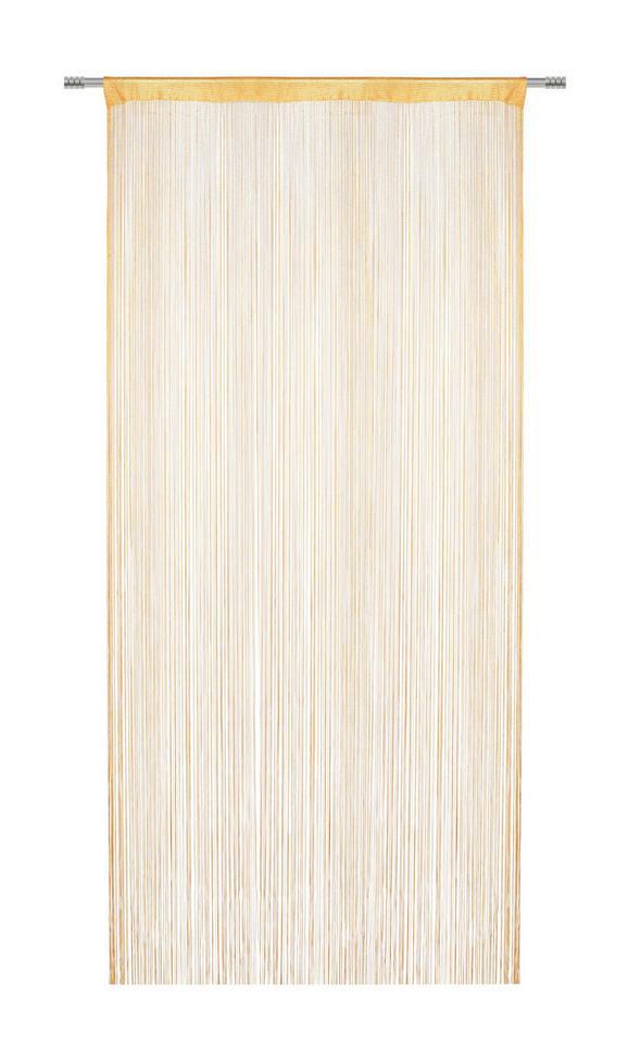 Fadenstore Franz, ca. 90x245cm - Orange, Textil (90/245cm) - MÖMAX modern living