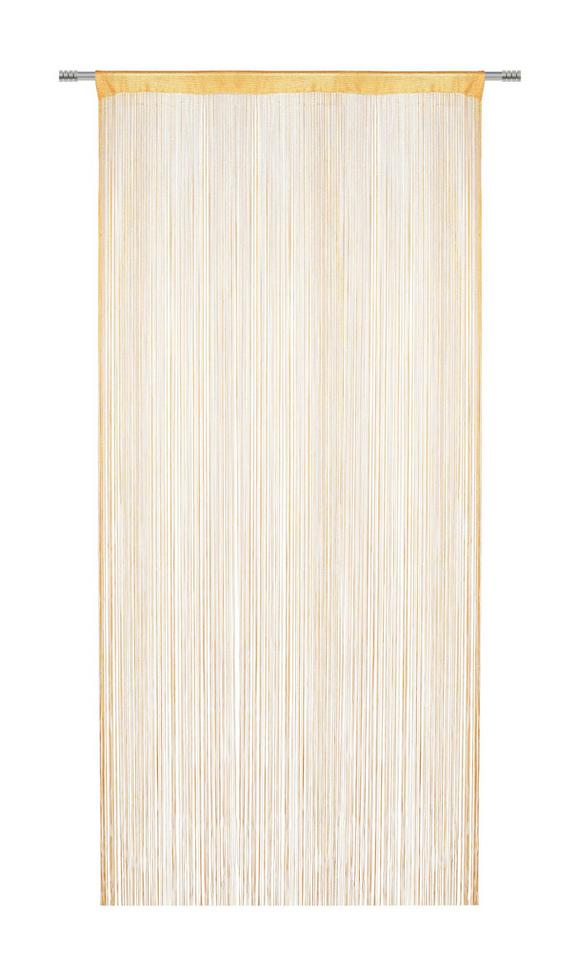 Nitasta Zavesa Franz - oranžna, tekstil (90/245cm) - Mömax modern living