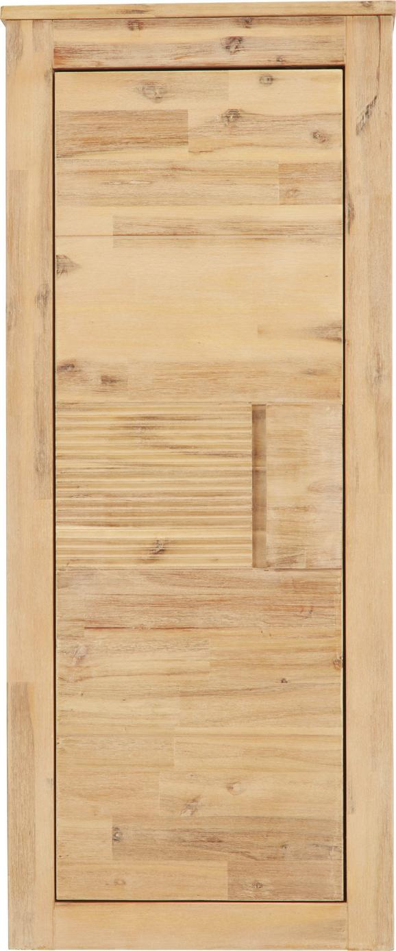 Hängeelement aus Akazie, Teilmassiv - Akaziefarben, KONVENTIONELL, Holz (50/120/35cm) - ZANDIARA