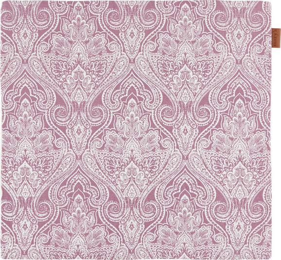 Kissenhülle Jenni ca. 40x40cm - Lila, MODERN, Textil (40/40cm)
