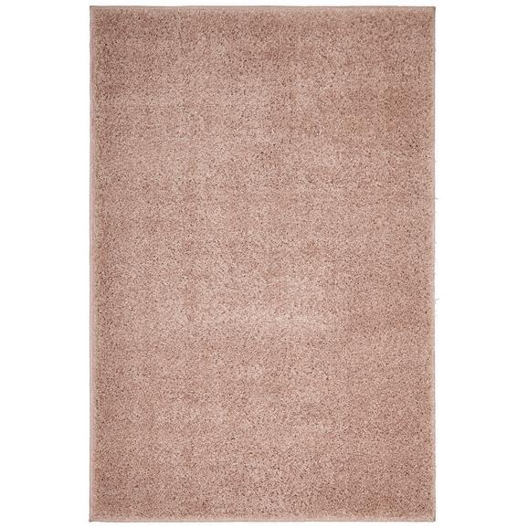 Hochflorteppich Bono in Rosa ca. 60x100cm - Rosa, KONVENTIONELL, Textil (60/100cm) - Based