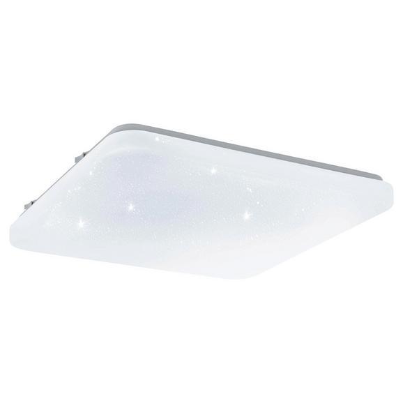 Deckenleuchte Frania-S mit LED - Weiß, MODERN, Kunststoff/Metall (33/33/7cm)