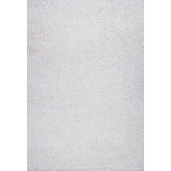 Hochflorteppich Galaxy in Weiß ca. 140x200cm - Weiß, MODERN, Textil (140/200cm)