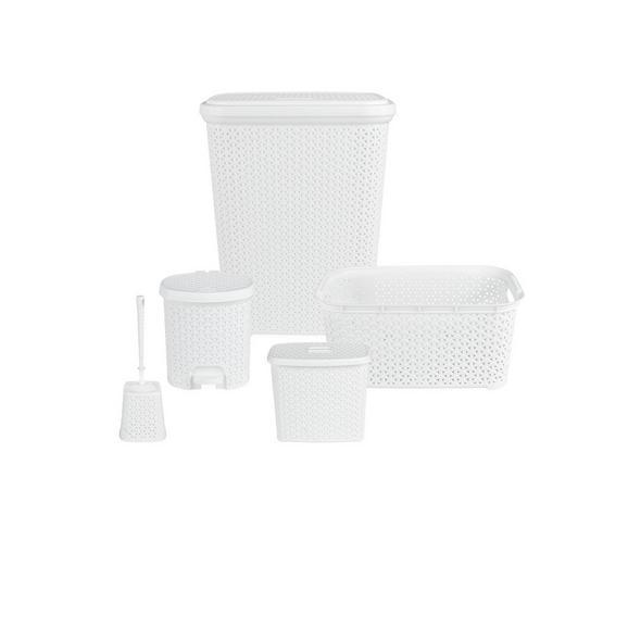 Jessica aus Kunststoff, 5-teilig - Weiß, Kunststoff - Mömax modern living