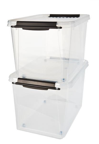 Box mit Deckel Rudolf - Klar, Kunststoff (58/39/35cm) - MÖMAX modern living
