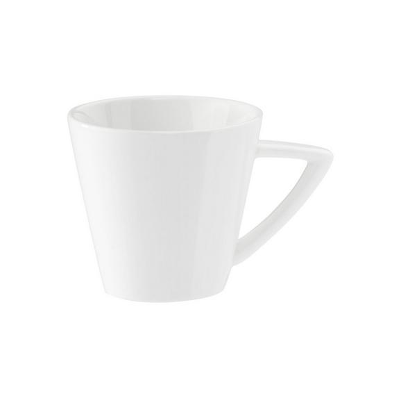 Espressotasse Pura in Weiß - Weiß, LIFESTYLE, Keramik (0,75cm) - Premium Living
