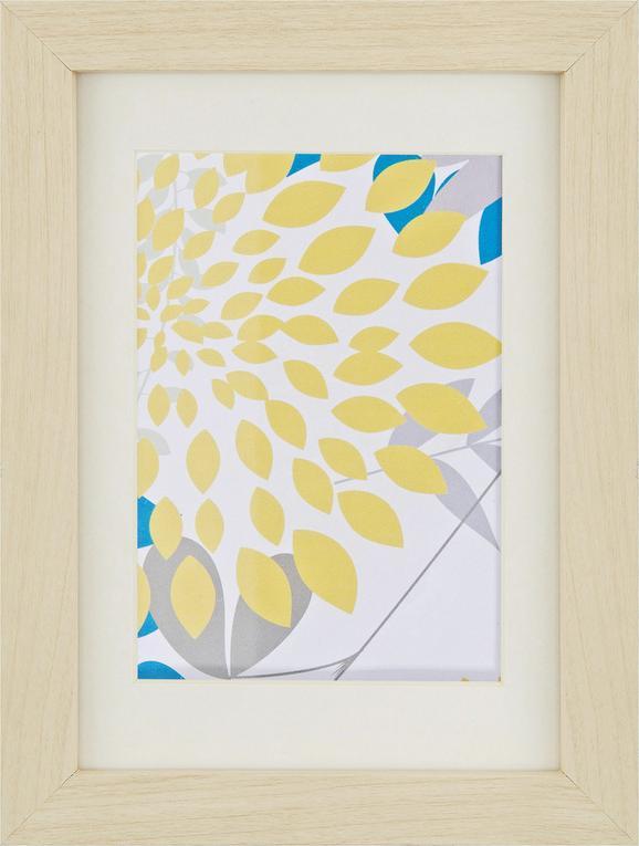 Képkeret Gitta - tölgy színű, üveg/fa (13/18cm) - MÖMAX modern living