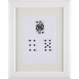 BILDERRAHMEN PROVENCE, ca. 30x40cm - Weiß, ROMANTIK / LANDHAUS, Glas/Holz (30/40/2cm) - Mömax modern living