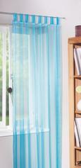 Zavesa Z Zankami Hanna - modra, tekstil (140/245cm) - Mömax modern living