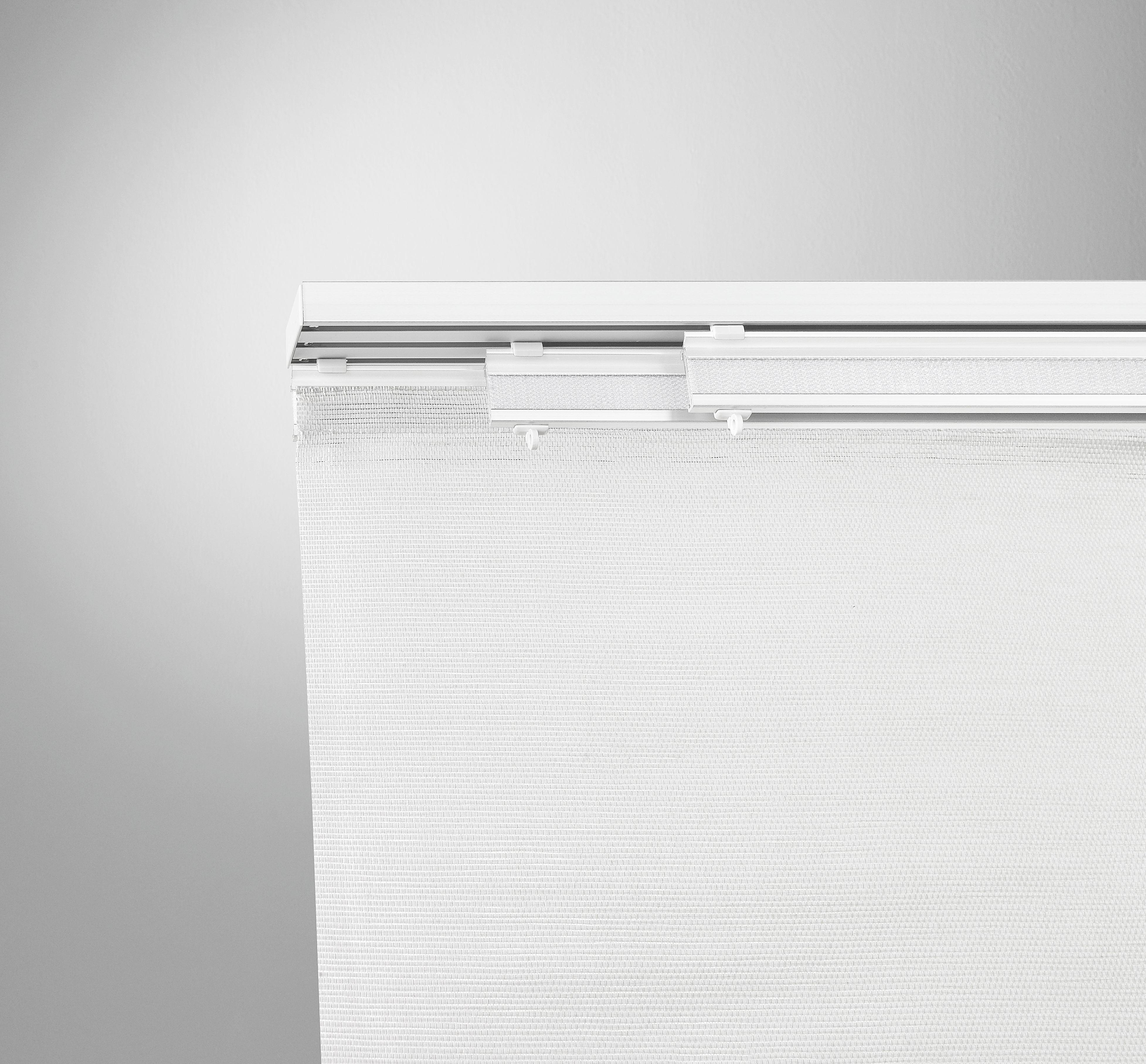 Lapfüggöny Rögzítő Szett Tom - fehér, fém (160cm) - MÖMAX modern living