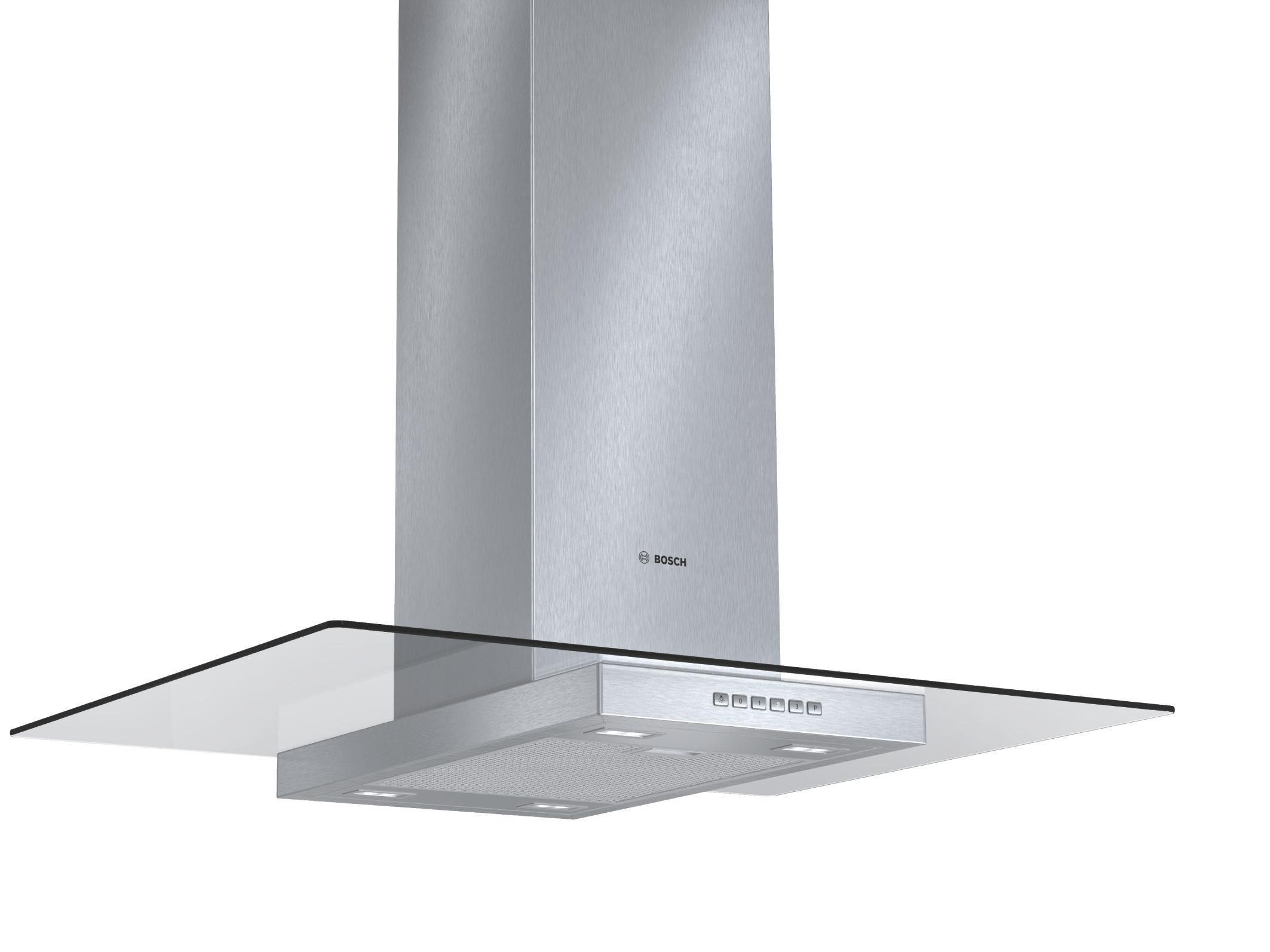 Dunstabzugshaube Bosch Dia097a50, EEZ A - ROMANTIK / LANDHAUS, Glas/Metall (90/75,1-105,1/68cm) - BOSCH