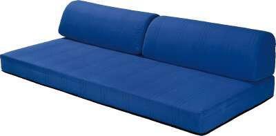 Párnacsomag Kim - kék, modern, textil (30/100cm)