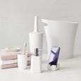 Perie Pentru Wc Lilo - alb, Modern, plastic (11,43/36,20cm) - Modern Living