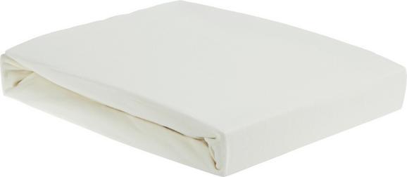 Spannbetttuch Elasthan Topper, ca. 180x200cm - Beige, Textil (180/200/15cm) - PREMIUM LIVING