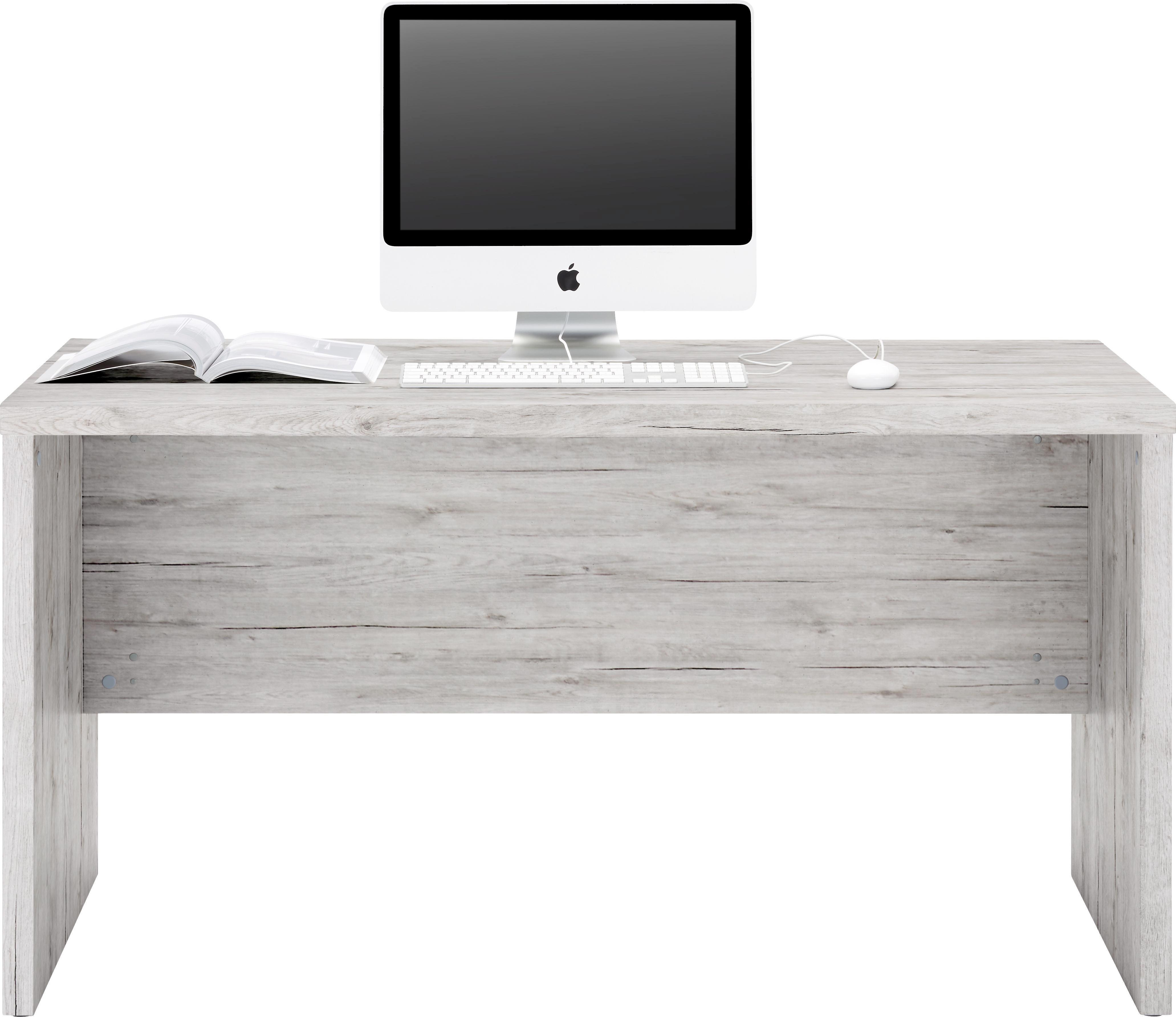 Íróasztal Schema Beton - antracit/szürke, modern, faanyagok (140/74/69cm)
