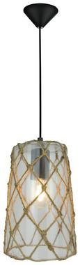 Viseča Svetilka Bilal - naravna/črna, Trendi, kovina/umetna masa (18/128cm) - Mömax modern living
