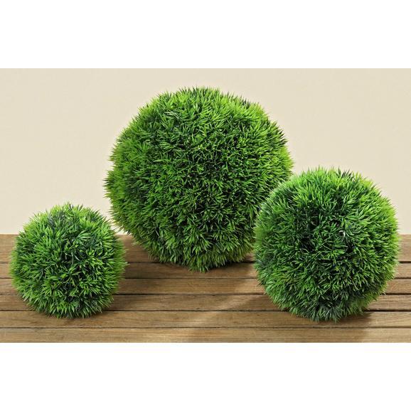 Krogla Trave Dynamit Ii - zelena, Konvencionalno, umetna masa (18cm) - Ambia Home