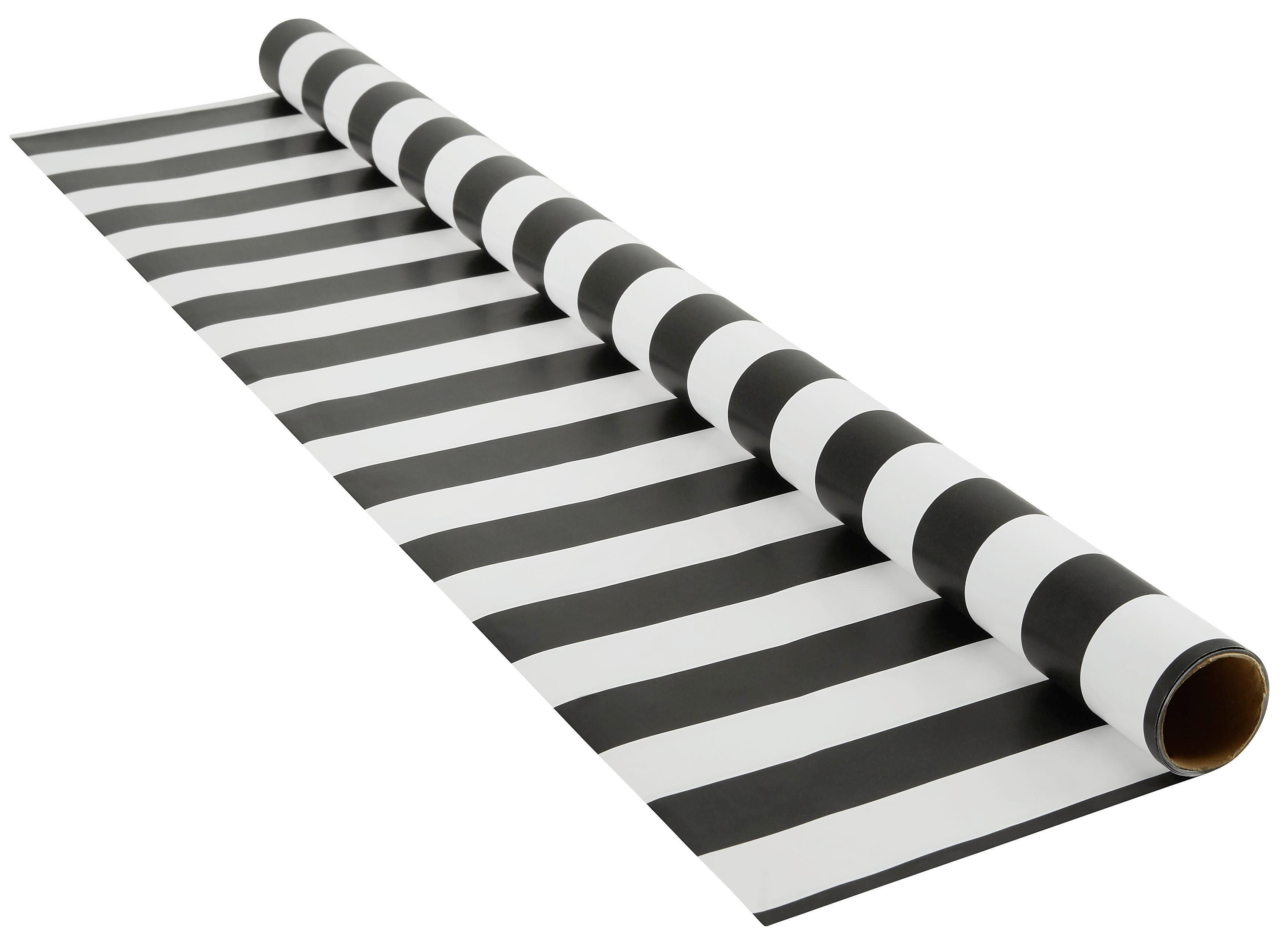 Ajándékcsomagoló Papír Marie - fekete/fehér, papír (70/200cm) - MÖMAX modern living