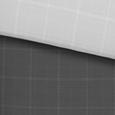 Posteljina Jack Wende - siva/antracit, Modern, tekstil (140/200cm) - Mömax modern living