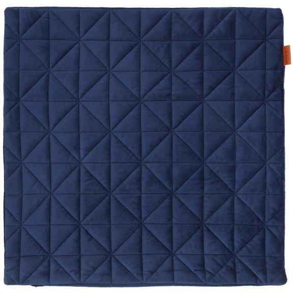 Prevleka Blazine Mary Samt - modra, Moderno, tekstil (45/45cm) - Mömax modern living