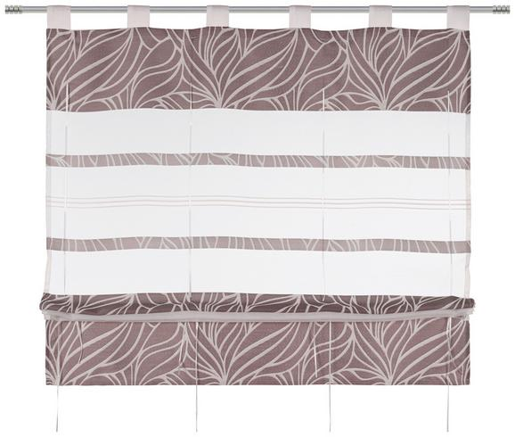 Bändchenrollo Anita, ca. 100x140cm - Grau, KONVENTIONELL, Textil (100/140cm) - Mömax modern living