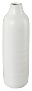 Dekorativna Vaza Presence - bela, Trendi, keramika (10/30cm)
