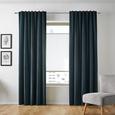 Vorhang Smilla aus Samt ca. 135x245 cm - Petrol, Textil (135/245cm) - Mömax modern living